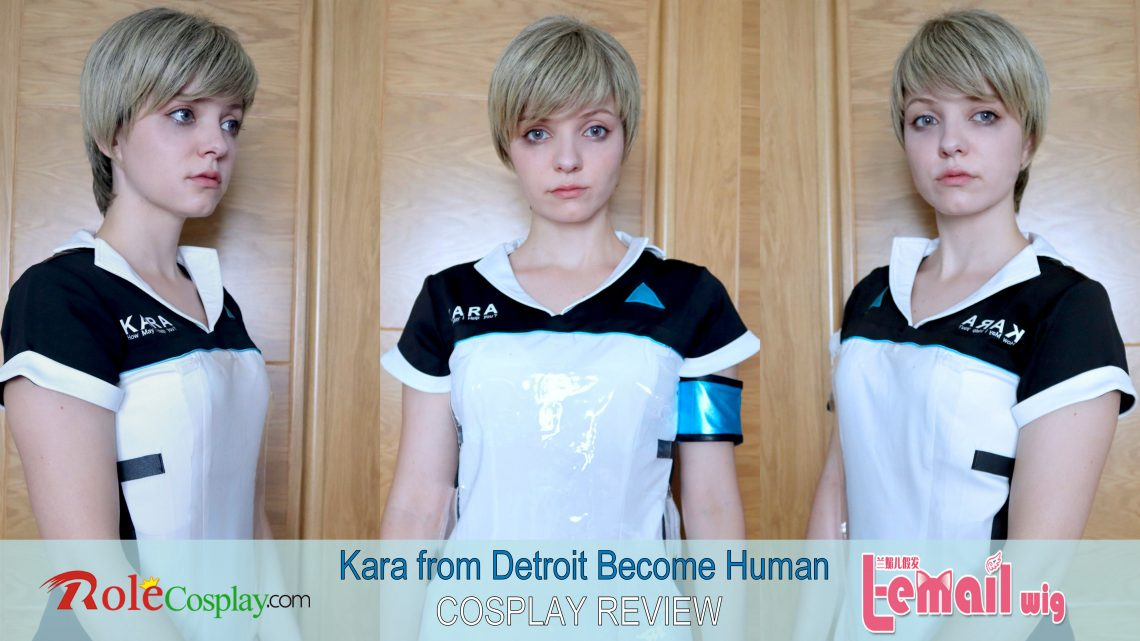 Kara(Detroit Become Human) Cosplay Review from L-email // Wig supplier