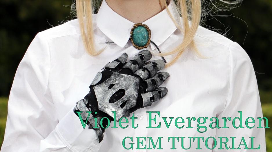 Violet Evergarden Necklace Tutorial