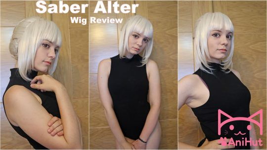Alter Saber wig Review from Anihut Cosplay