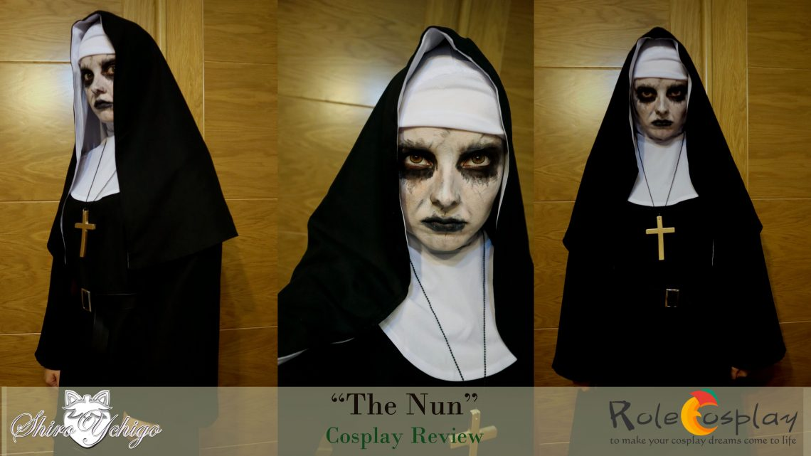 The Nun costume review from Rolecosplay by Shiro Ychigo