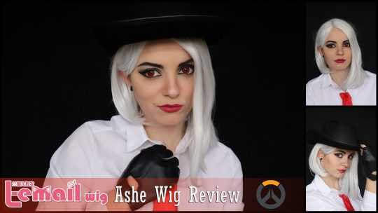 Ashe Cosplay wig review from L-email // Wig-supplier