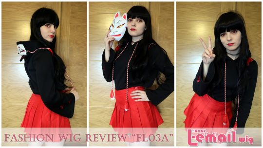 "Wig Review: Fashion wig model ""FL03A"" from L-email Wigs // Wig supplier"