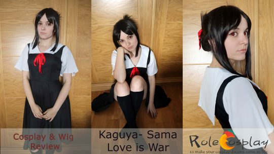 Cosplay review: Kaguya-sama from Kaguya-sama Love is war from Rolecosplay