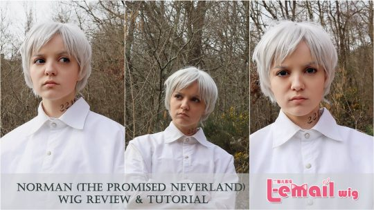 Cosplay Wig Review: Norman  (The Promise Neverland) from L-email wigs