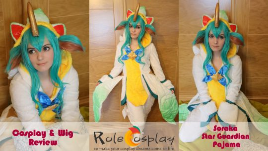 Cosplay & Wig Review: Soraka Star Guardian Pajama from Rolecosplay