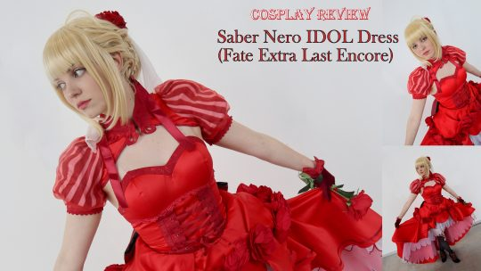 Cosplay Review: Saber Nero (Fate Extra Last Encore) Idol Dress from UWOWO