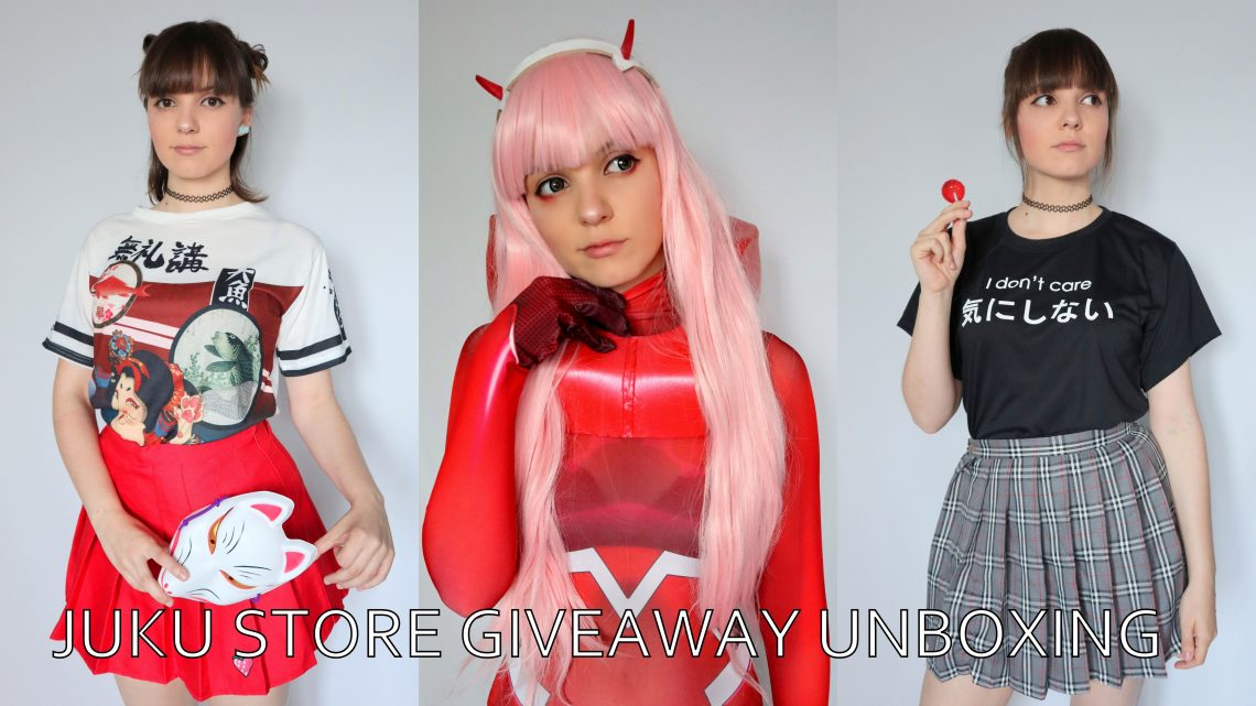 Unboxing: Prizes from Juku Store's Giveaway