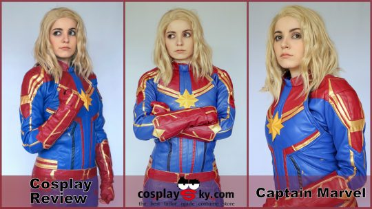 Cosplay Review: Captain Marvel Costume(Avengers 4) from CosplaySky