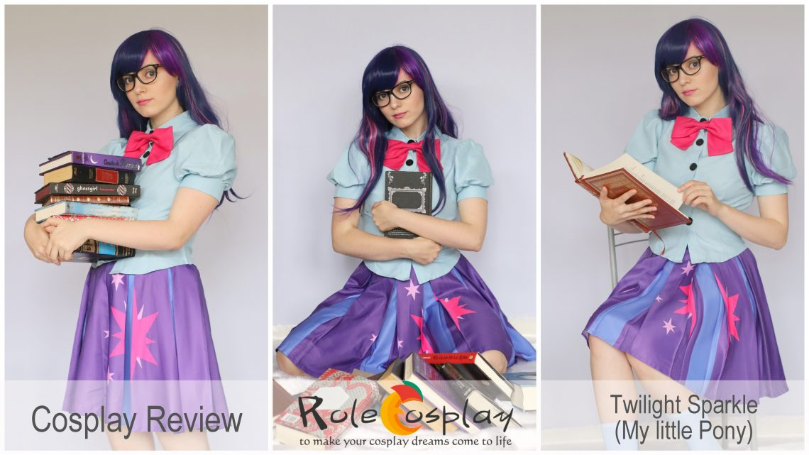 Cosplay Review: Twilight Sparkle cosplay & wig from Rolecosplay