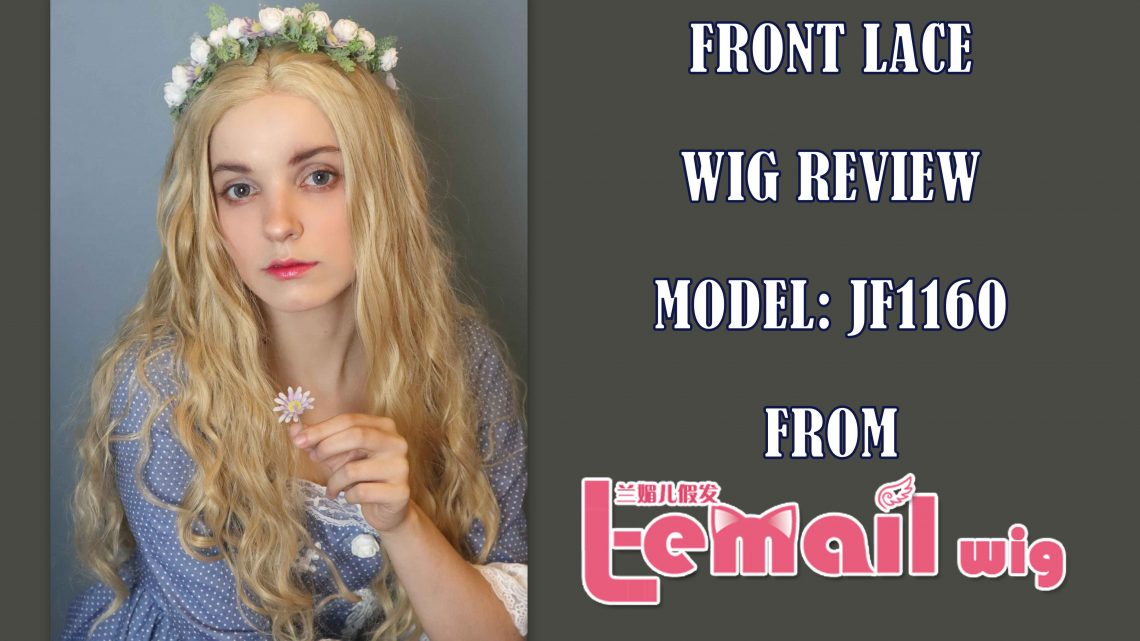 Frontlace Wig Review: model JF1160 from L-email wig // Wig-supplier