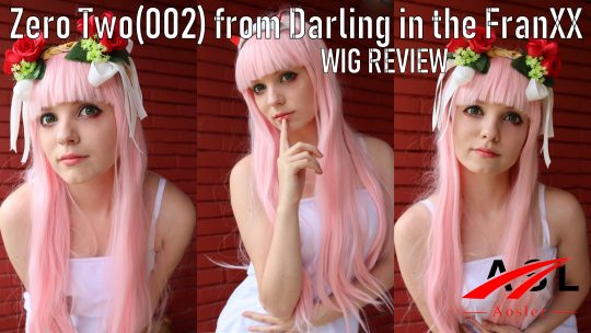 Zero Two(Darling in the FranXX) wig Review from Aosler Store