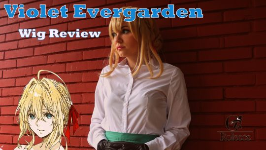 Violet Evergarden Wig review from Rolecosplay