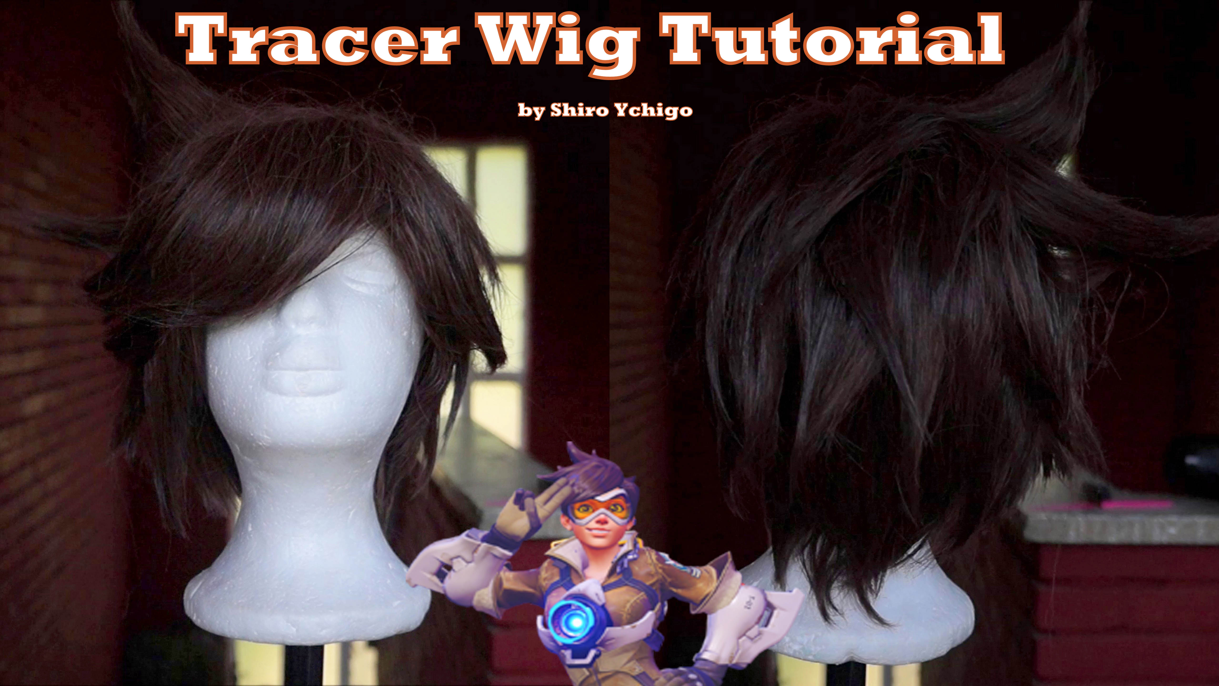 Tracer Wig Tutorial