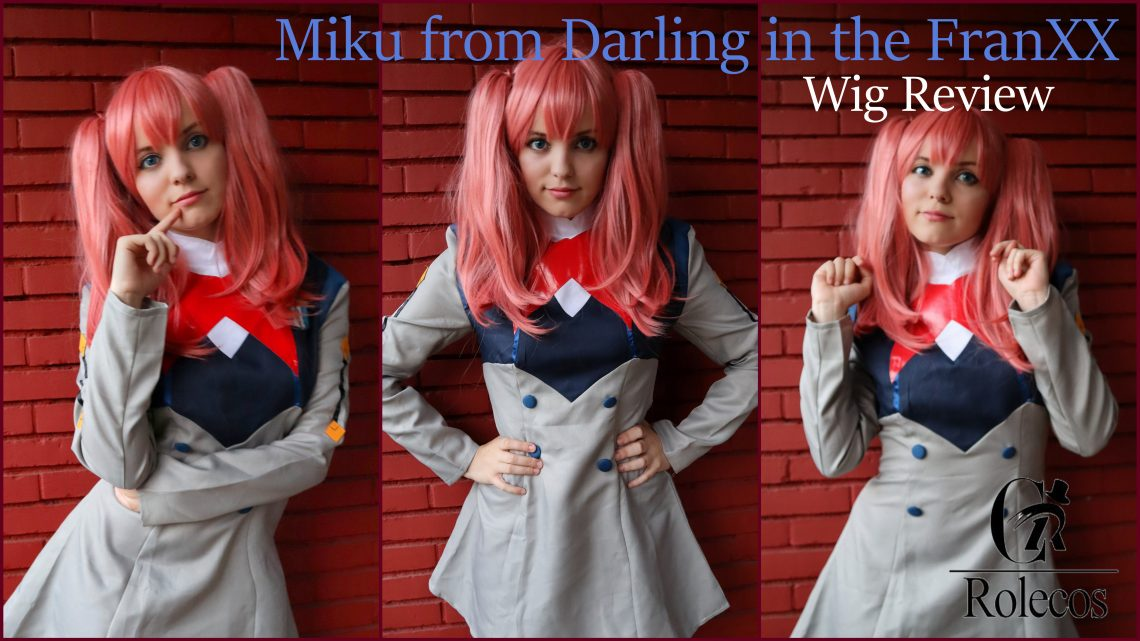 Miku(Darling in the FranXX) wig Review from Rolecosplay