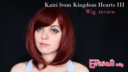Kairi (Kingdom Hearts III) wig review from Kingdom Hearts