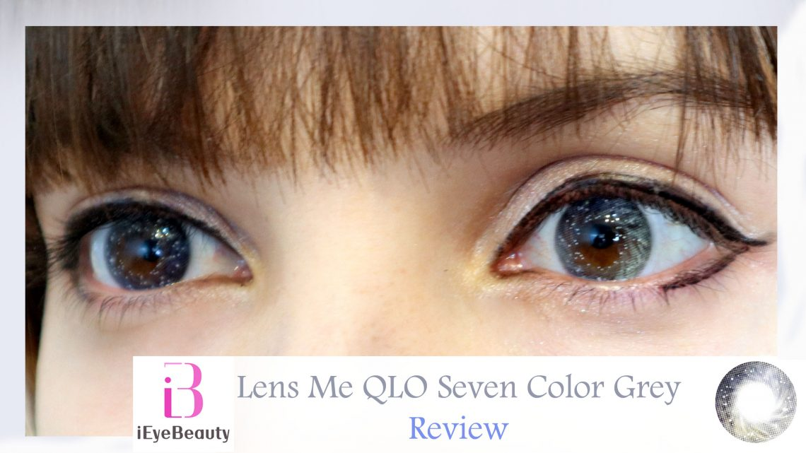 Lens Me QLO Seven Color Grey Review by Shiro Ychigo