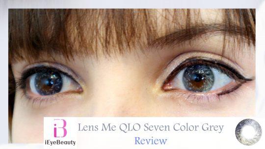 Lens Me QLO Seven Color Grey Review by Shiro Ychigo