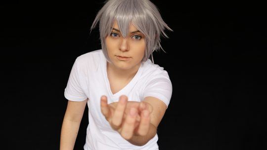 Riku (Kingdom Hearts III) Wig Review from L-email // Wig supplier