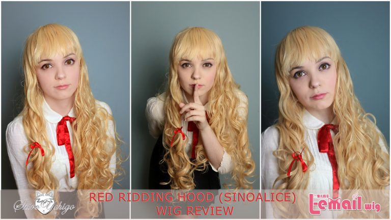 Red Ridding Hood (Sinoalice) Wig review from L-email Wigs // Wig-supplier