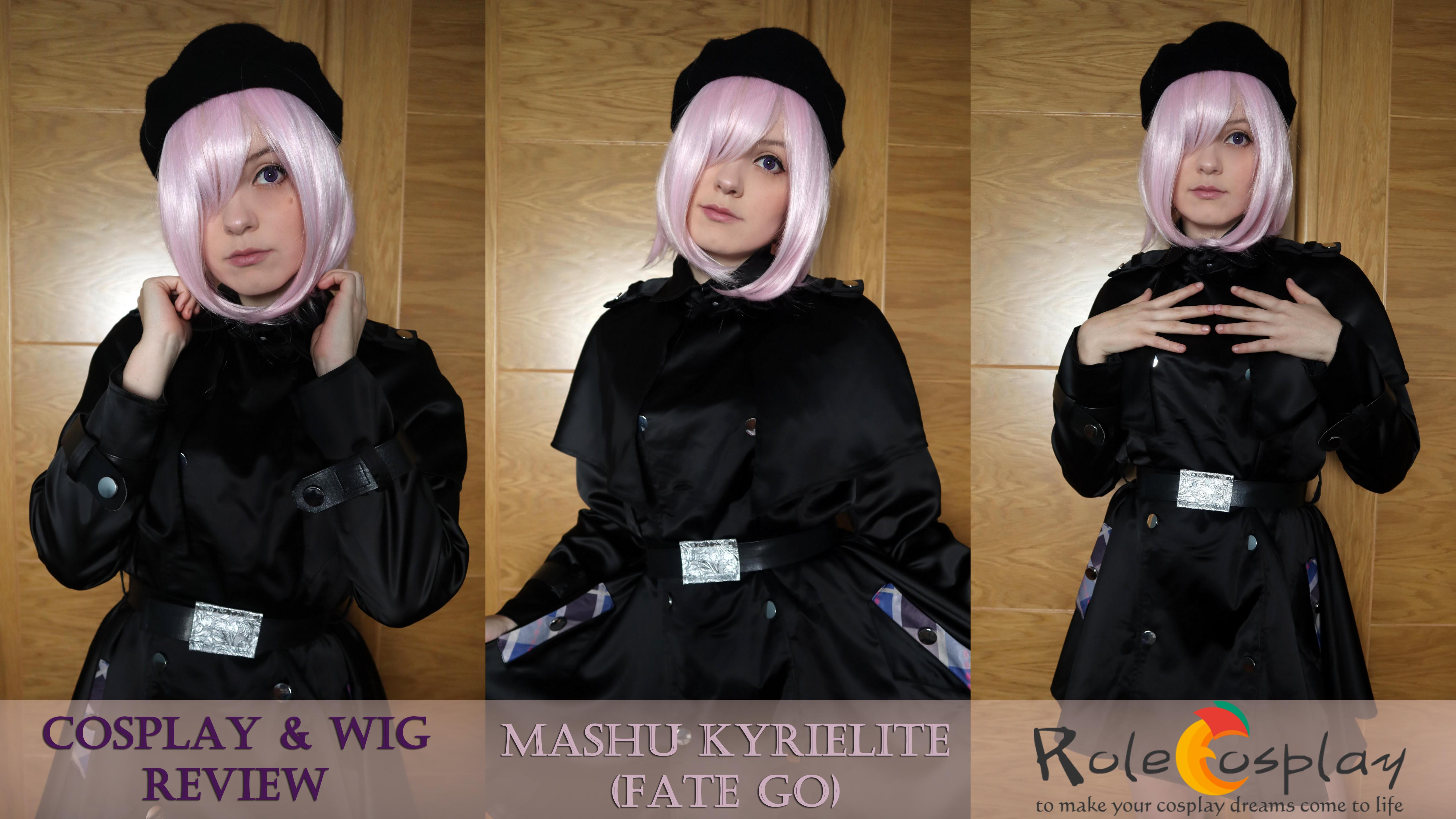Cosplay & Wig Review: Mashu Kyrielight Travel Version from Fate/ Grand Order