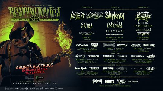 Resurection Fest 2019: Lo que está por venir