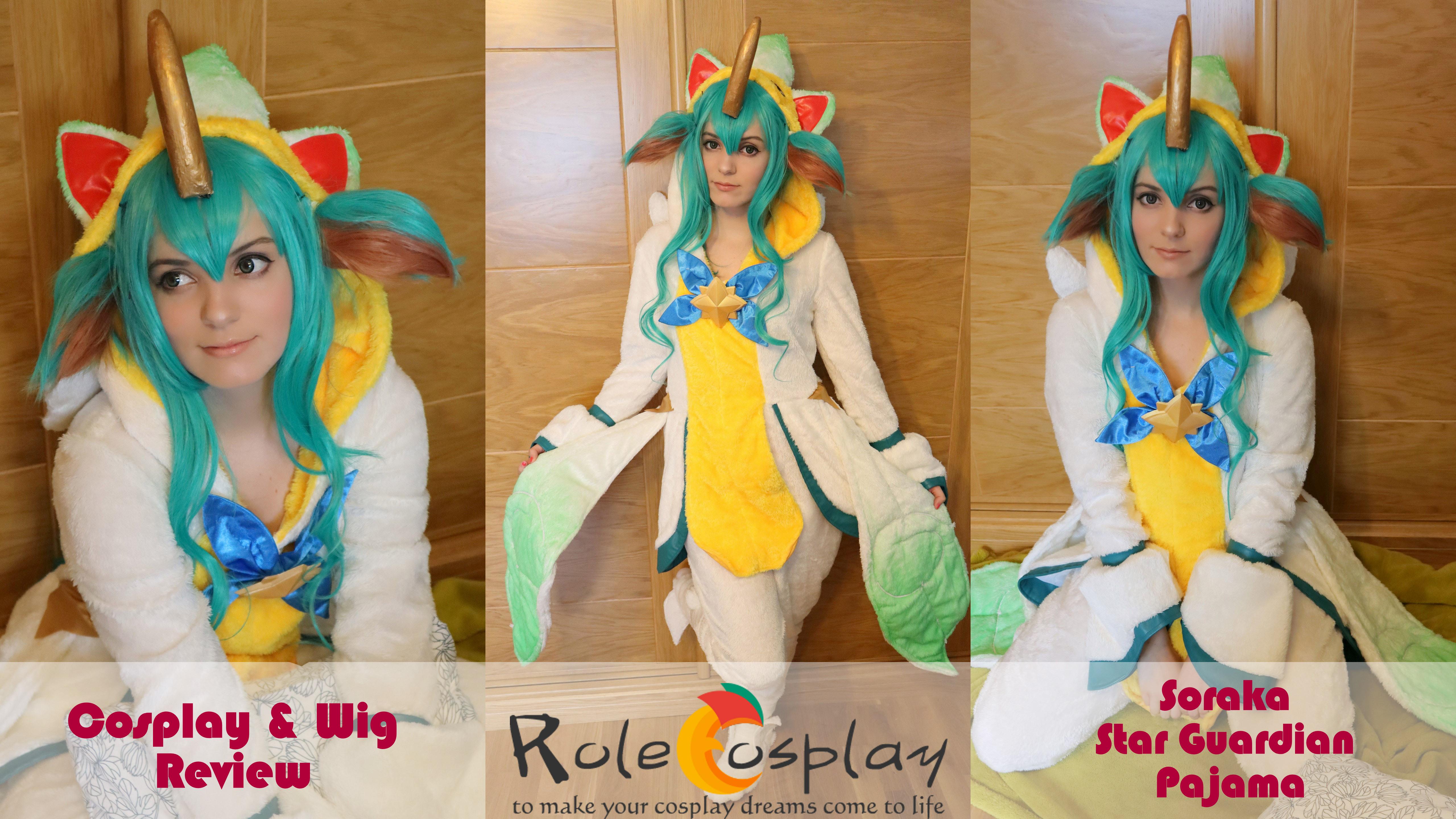 Cosplay & Wig Review: Soraka Star Guardian Pajama From
