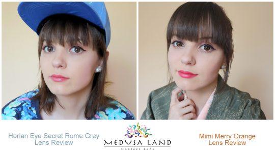 Lens review: Horian Eye Secret Grey + Mimi Merry Orange from MedusaLand