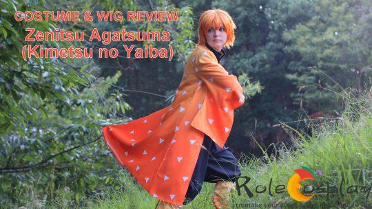 Cosplay & Wig Review: Zenitsu (Kimetsu no Yaiba) from Rolecosplay