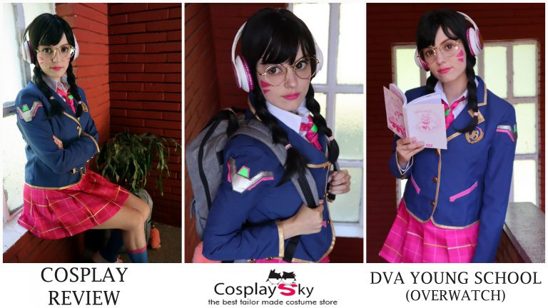 Cosplay Review: DVA young school from Cosplay Sky