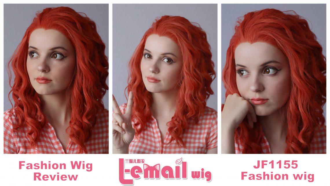 Fashion wig review: JF1155 model from L-Email Wigs