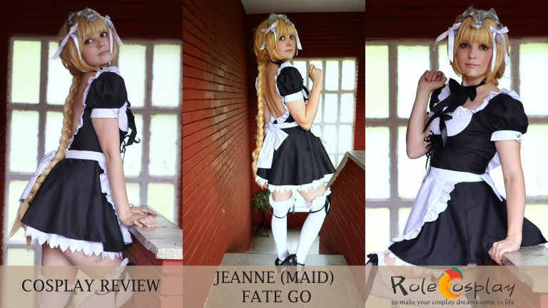 Cosplay Review: Jeanne Maid Dress (Fate GO) from Rolecosplay