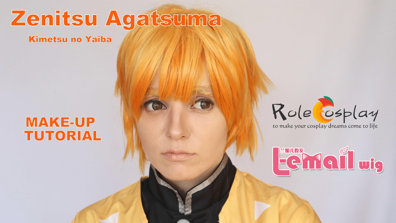 Cosplay Make-up Tutorial: Zenitsu Agatsuma from Kimetsu no Yaiba