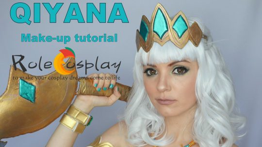 Cosplay Make-up tutorial: Qiyana from League of Legends