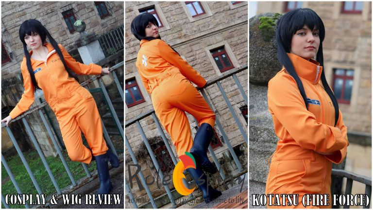 Cosplay & Wig Review: Kotatsu (Fire Force) from Rolecosplay