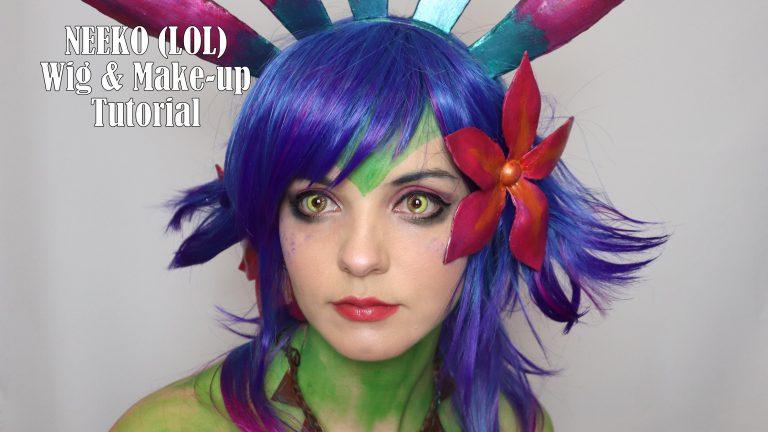 Cosplay Tutorial: Neeko Wig & Make-up