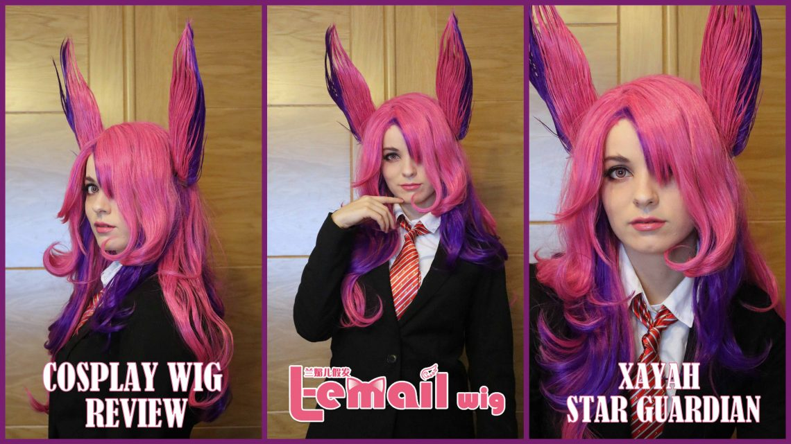 Cosplay Wig Review: Xayah Star Guardian from L-email