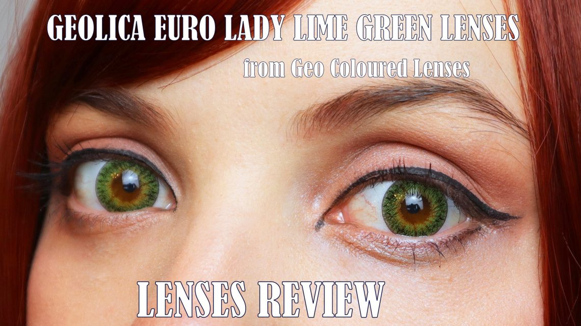 Lenses Review: Geolica Euro Lady Lime green from Coloured Contacts