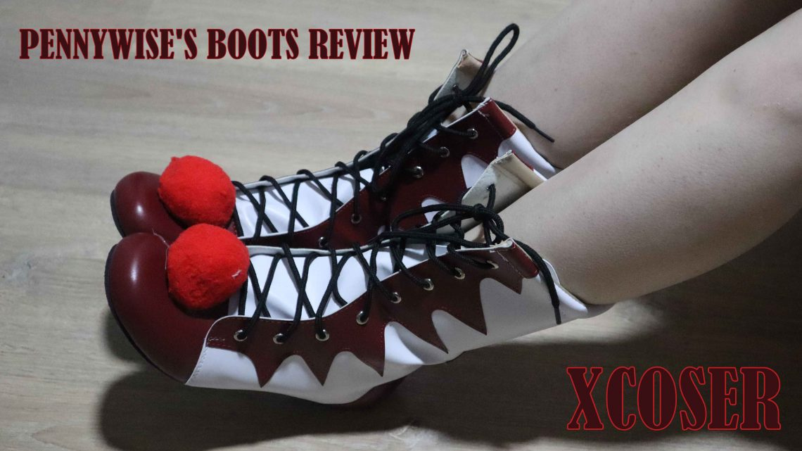 Cosplay Review: Pennywise Boots
