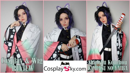 Cosplay & Wig Review: Shinobu Kouchou from CosplaySky