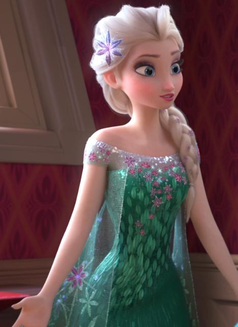 Work in Progress: Elsa (Frozen Fever)