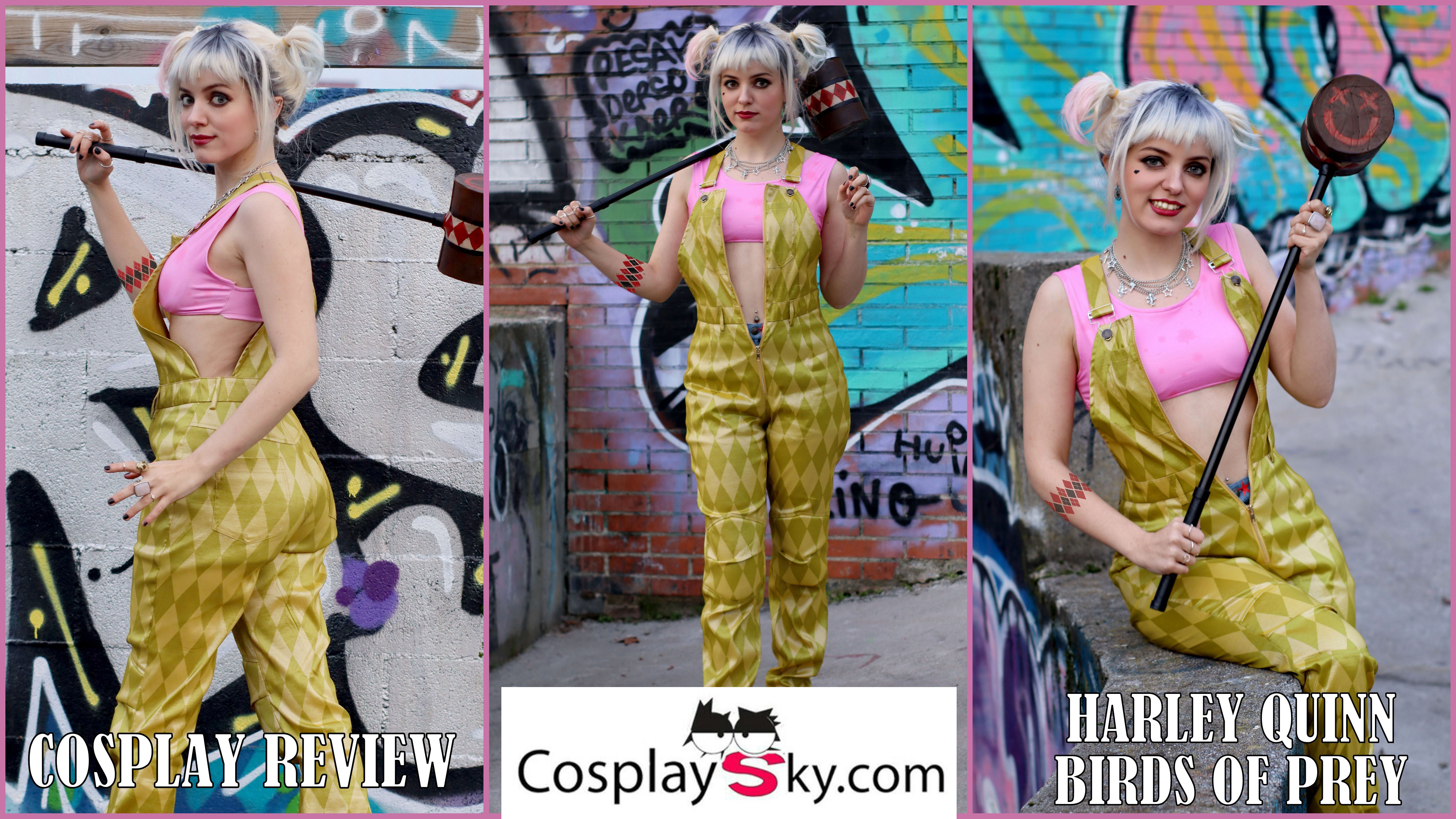 Cosplay Review: Harley Quinn (Birds of Prey) from Cosplay Sky
