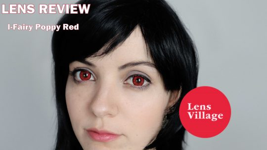 Lens Review: I-Fairy Poppy Red from Lens Village