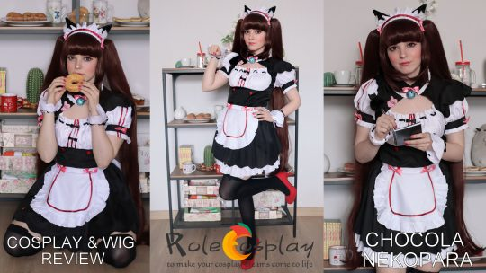 Cosplay & wig review: Chocola from Nekopara