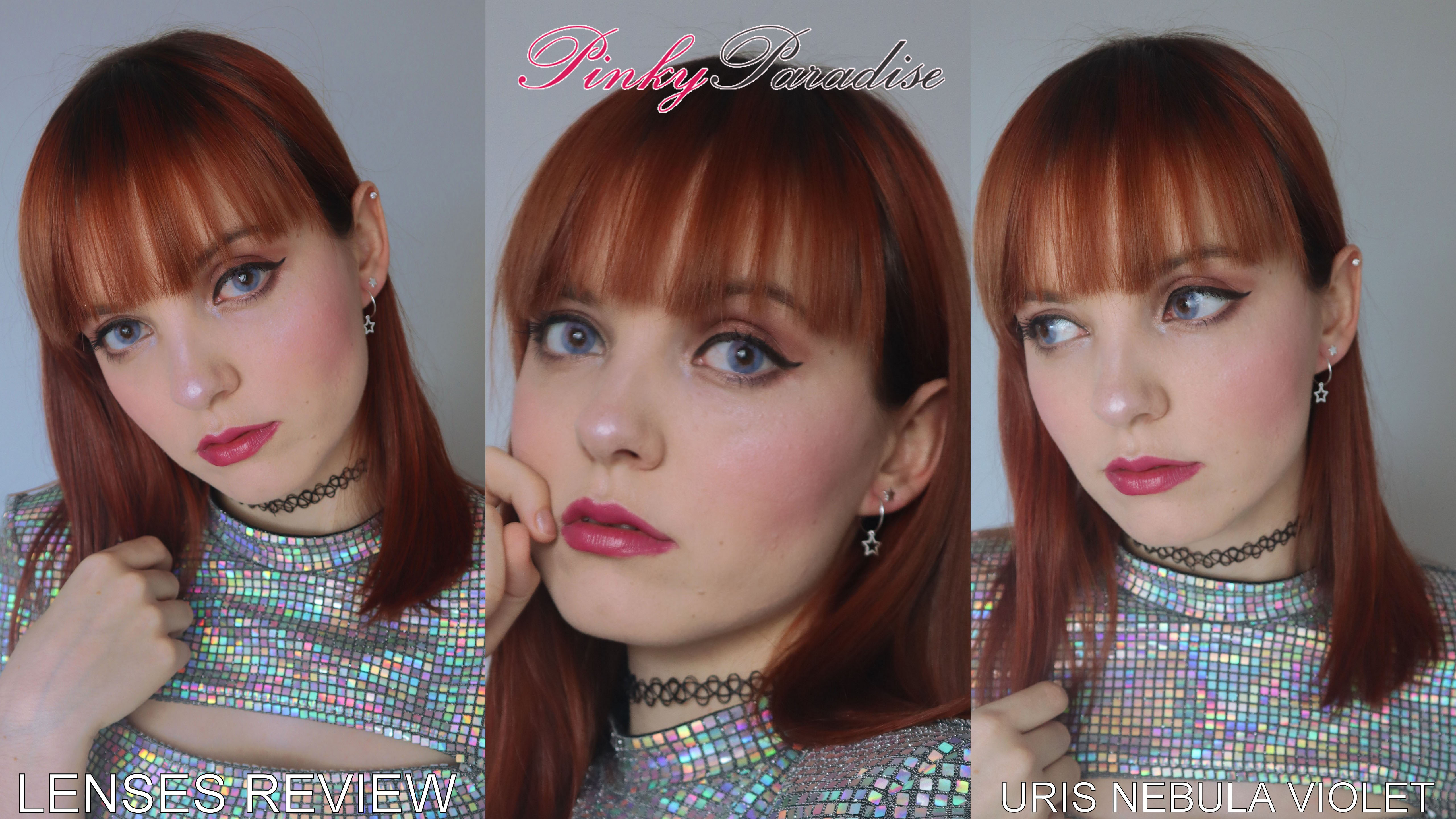 Lenses review: Uris Nebula Violet from Pinky Paradise
