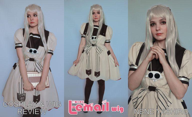Cosplay & wig review: Nene Yashiro (Jibaku Shōnen Hanako-kun) from L-email wigs