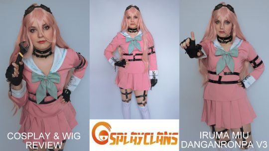 Cosplay & wig review: Iruma Miu (Danganronpa v3) from Cosplayclans