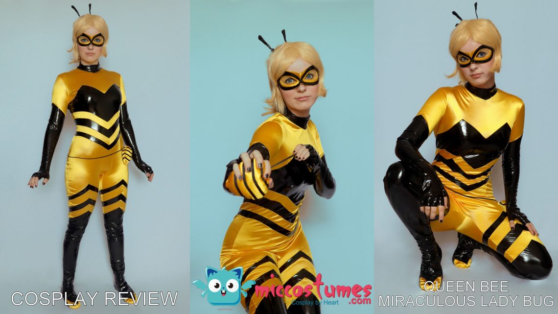 Cosplay Review: Queen Bee (Miraculous Lady Bug) from Miccostumes