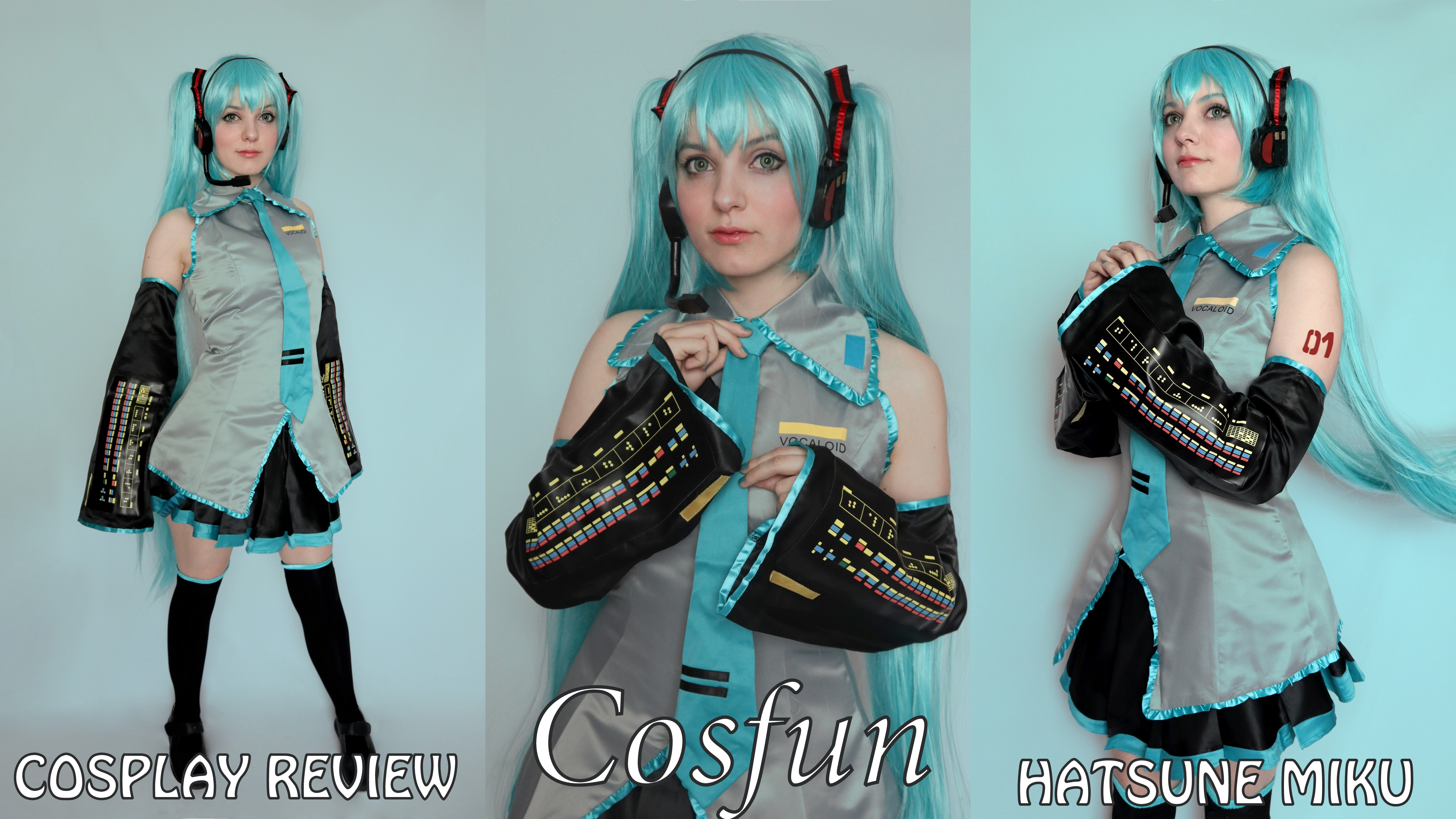 Cosplay review: Hatsune Miku (Vocaloid) from Cosfun