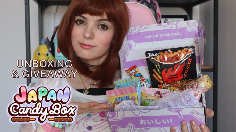 JAPAN CANDY BOX UNBOXING & GIVEAWAY