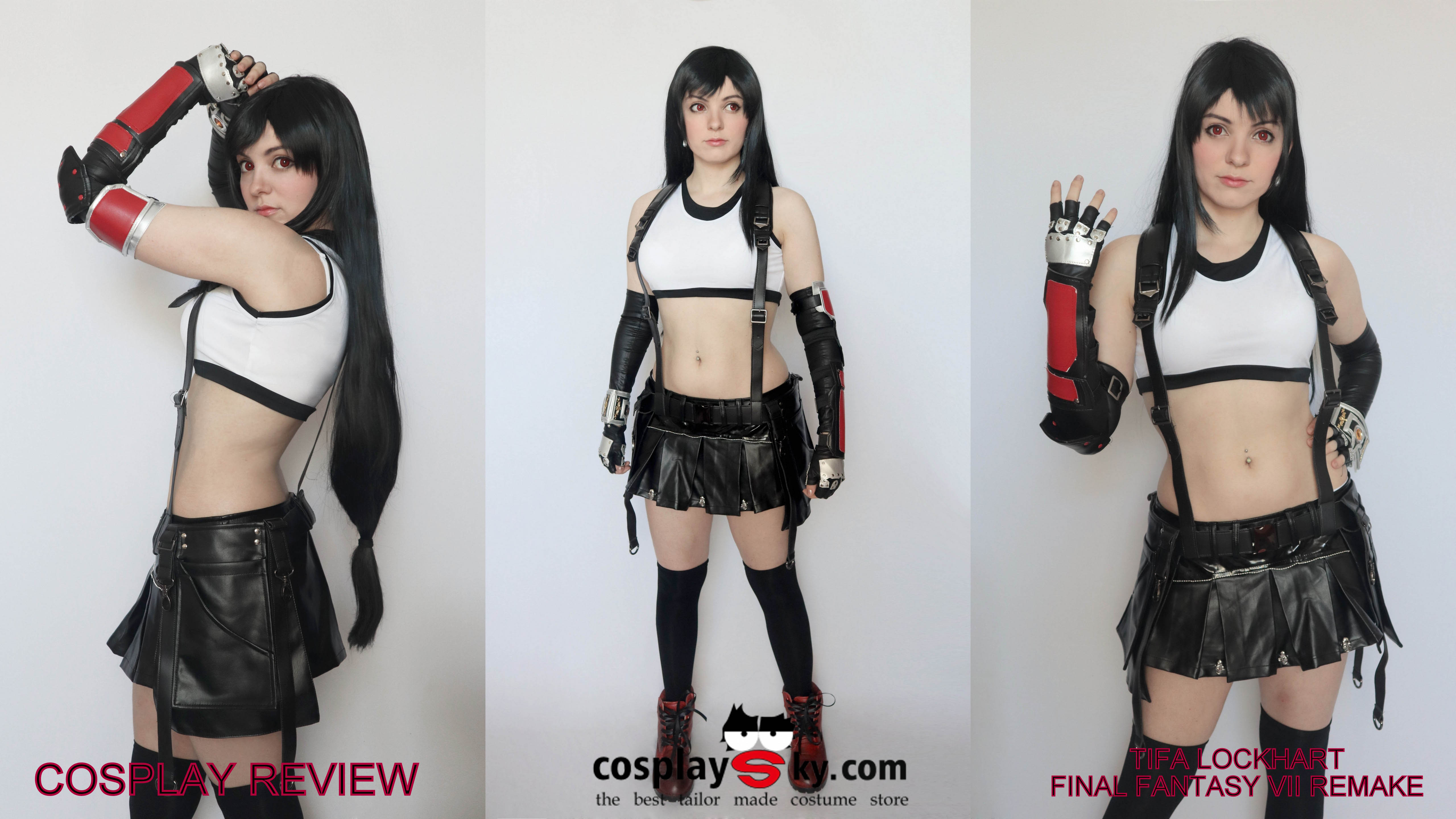 Cosplay Review: Tifa Lockhart from Final Fantasy VII Remake